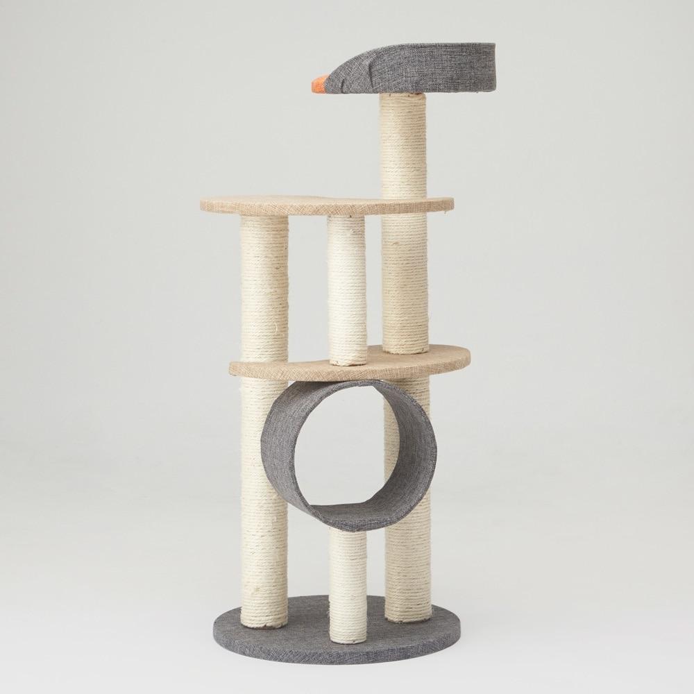 仔猫から使えるキャットインテリアタワー キトン