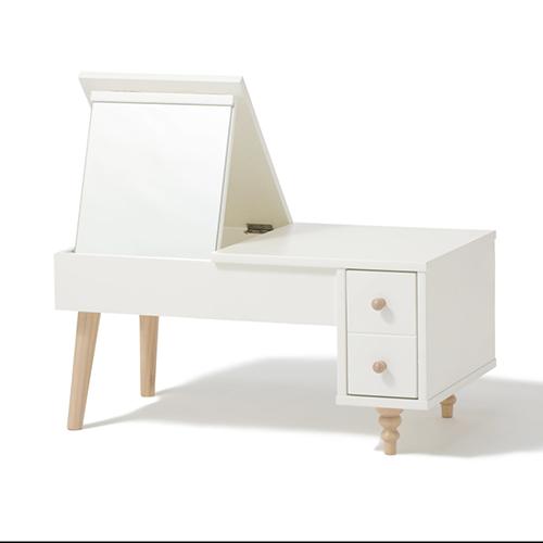 ラーナ ドレッサーテーブル ホワイト×ナチュラル