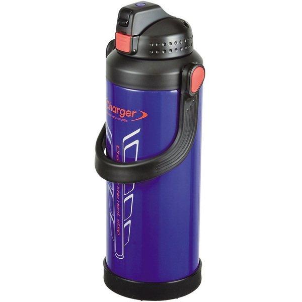 パール金属 水筒 3.0L 直飲み ダブル ステンレス スポーツ ジャグ 3000 オークブルー チャージャー HB-229