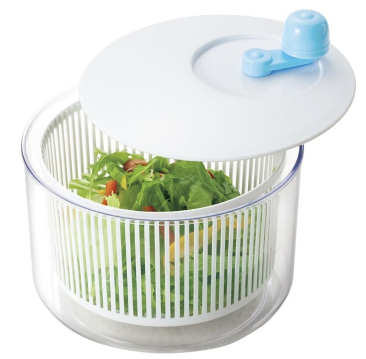 野菜水切り シャッキリサラダ