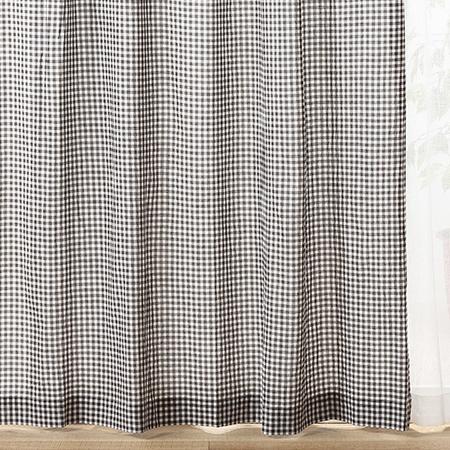 無印良品 オーガニックコットン洗いざらしプリーツカーテン
