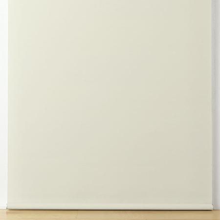 ポリエステル平織ロールスクリーン・チェーンタイプ/白 幅30~50×丈10~80cm