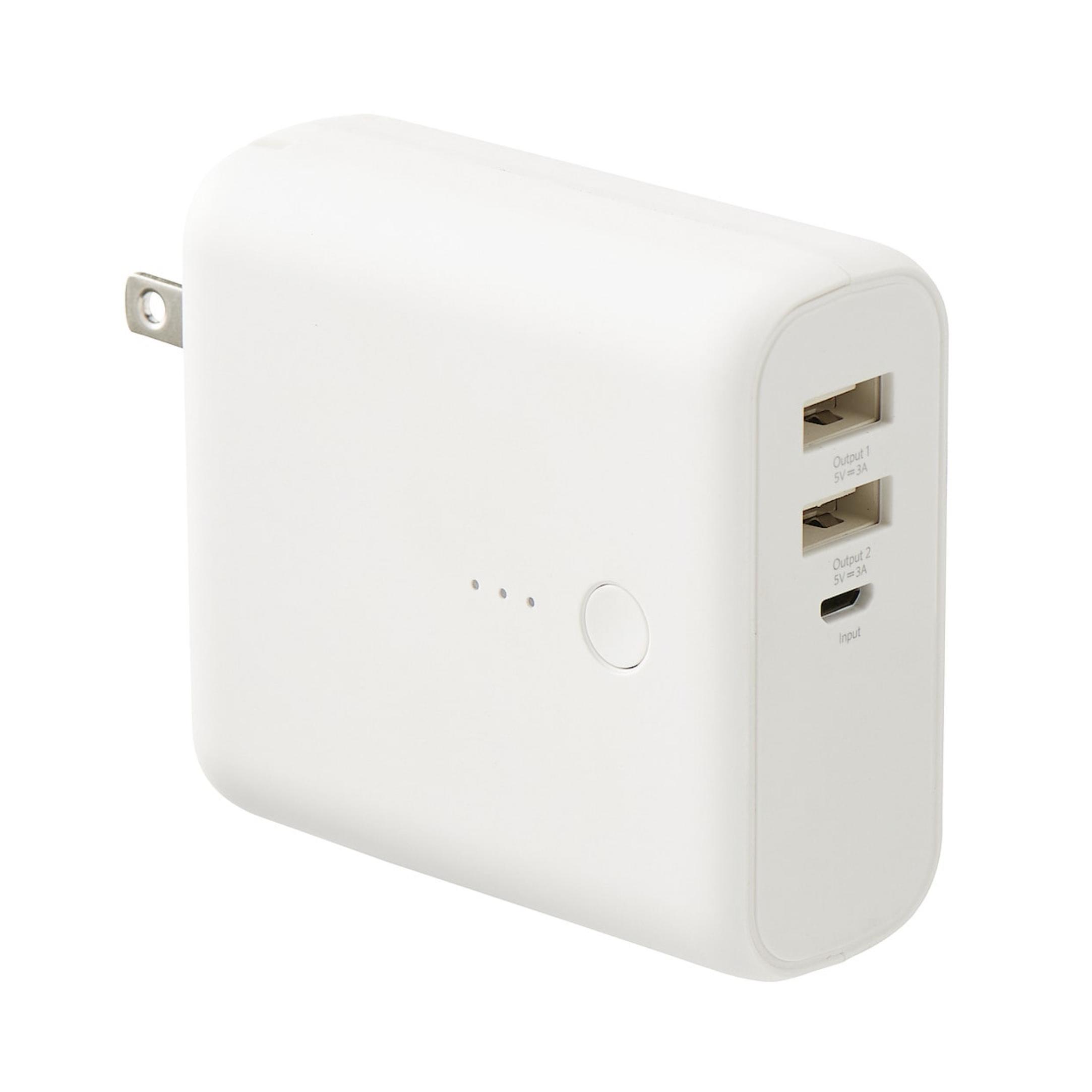USB用モバイルバッテリー・急速充電器付 MJ-PSMB1