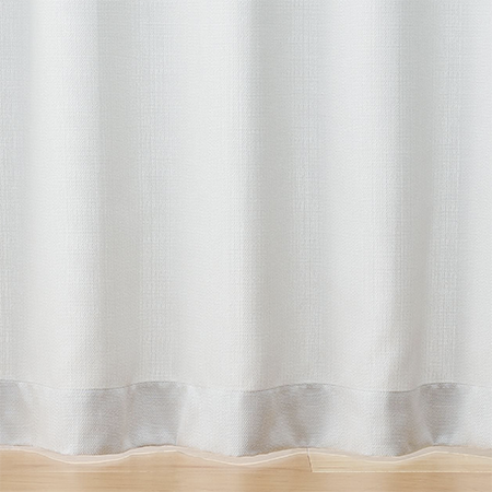無印良品 麻平織プリーツカーテン