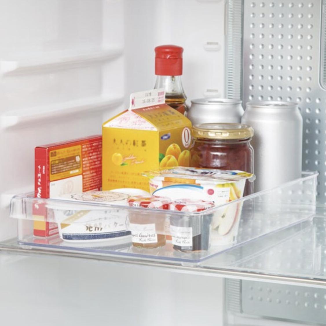 冷蔵庫整理トレー 浅型