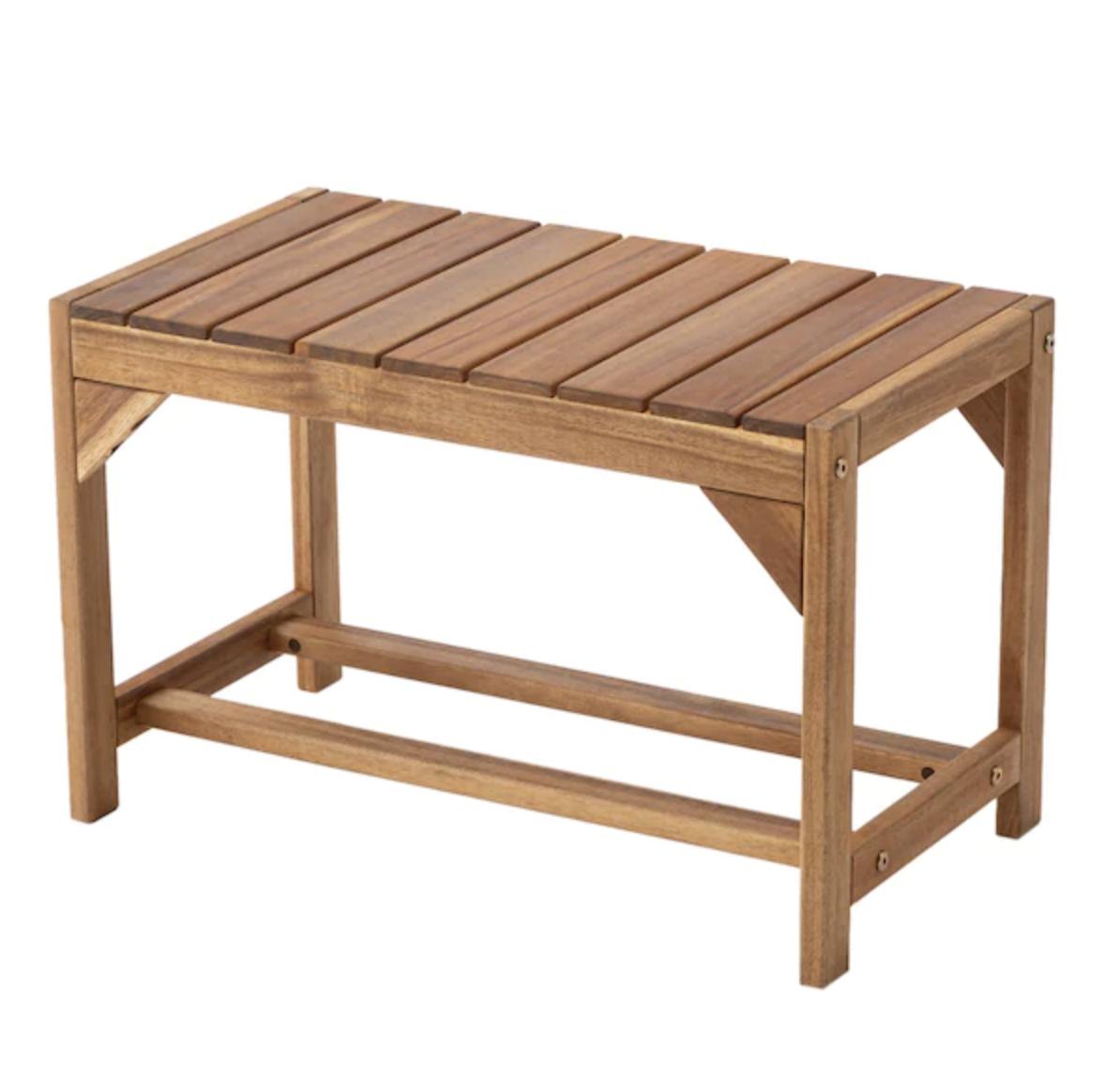 木製ガーデンベンチ(Sサイズ ITT)