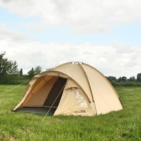 キャンバスキャンプのドームテント