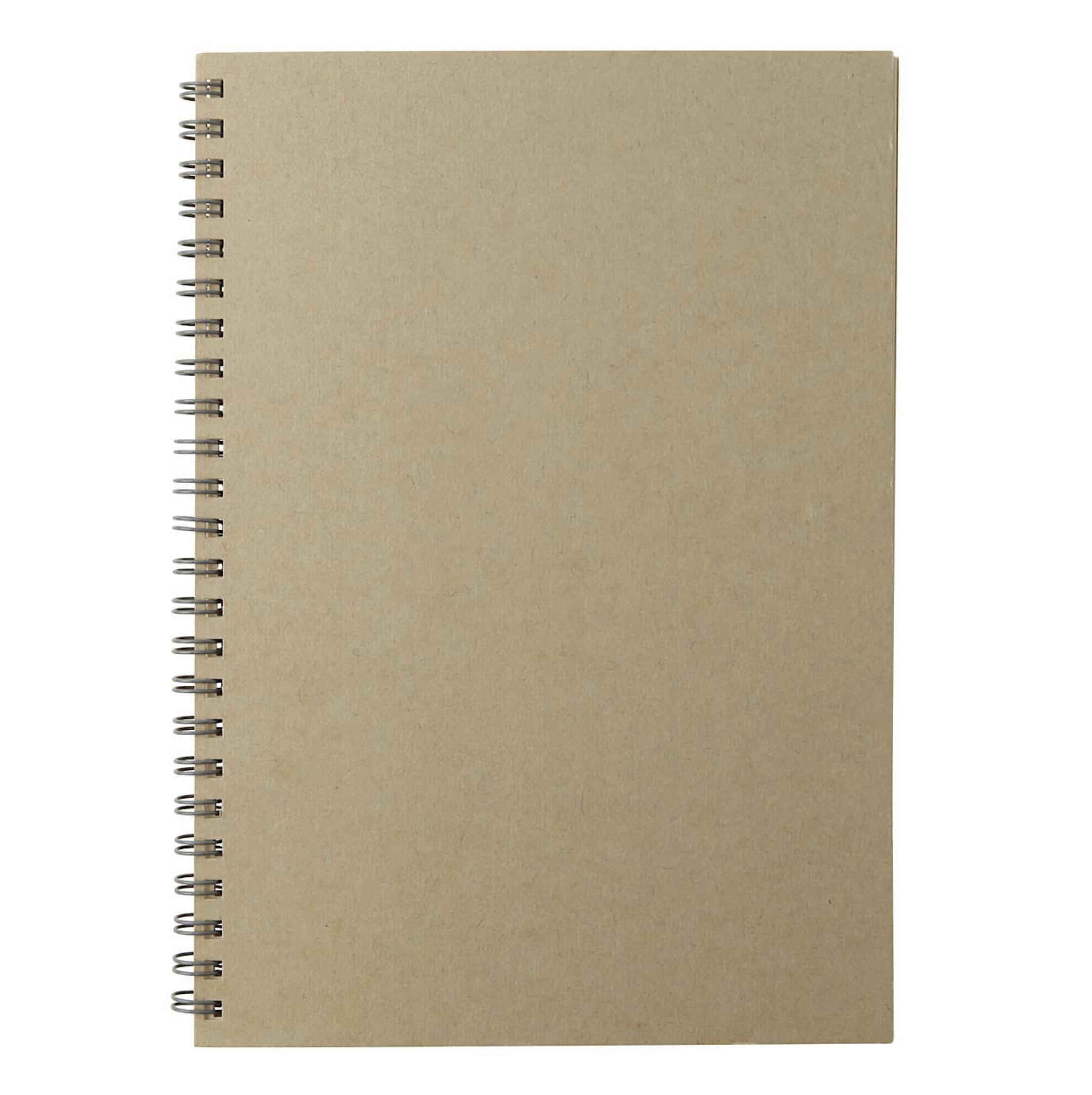 クラフトデスクノート(スケジュール)・マンスリー A5
