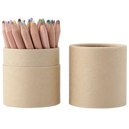 色鉛筆紙管入り・ハーフサイズ 36色・紙管ケース入り