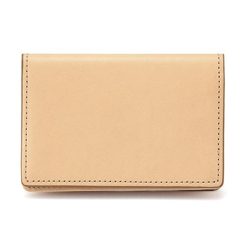 イタリア産ヌメ革 カードケース