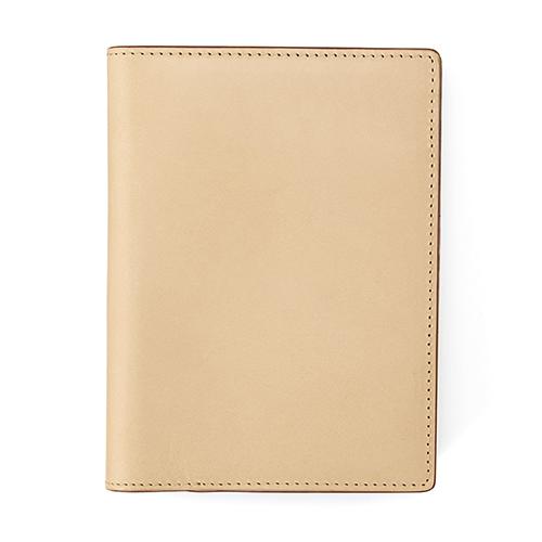 イタリア産ヌメ革 パスポートケース