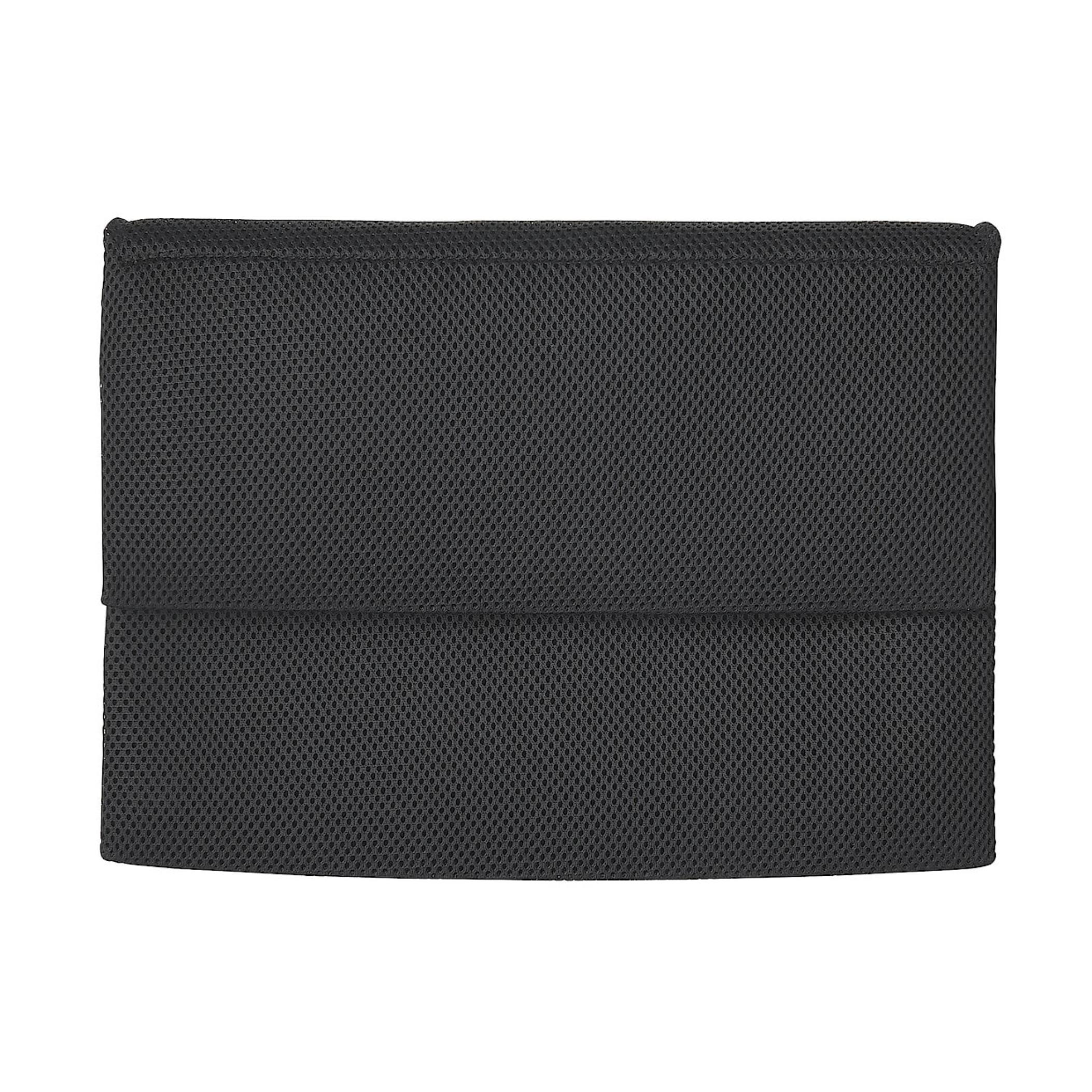 ポリエステルメッシュPCカバー ポケット付 13型用 黒