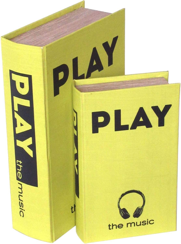 デザイン小物 BOOK BOX 2個セット (東洋石創)